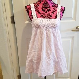 Victorias Secret Classic Baby Pink BabyDoll Dress